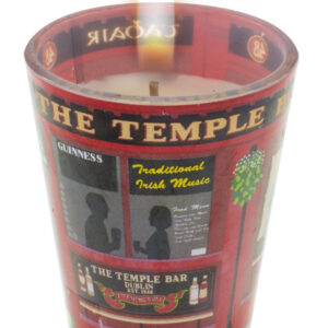 The Temple Bar Shot Glass Candle