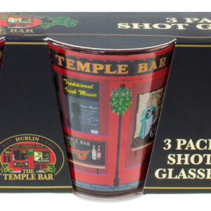 The Temple Bar Shot Glass - 3 Pack