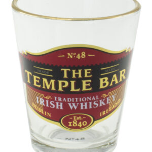 The Temple Bar Whiskey Shot Glass