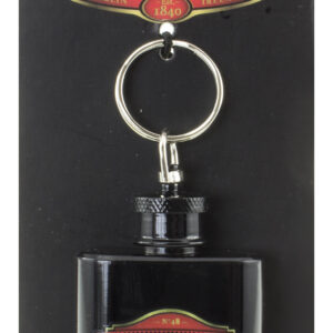 The Temple Bar Whiskey Hip Flask Keyring