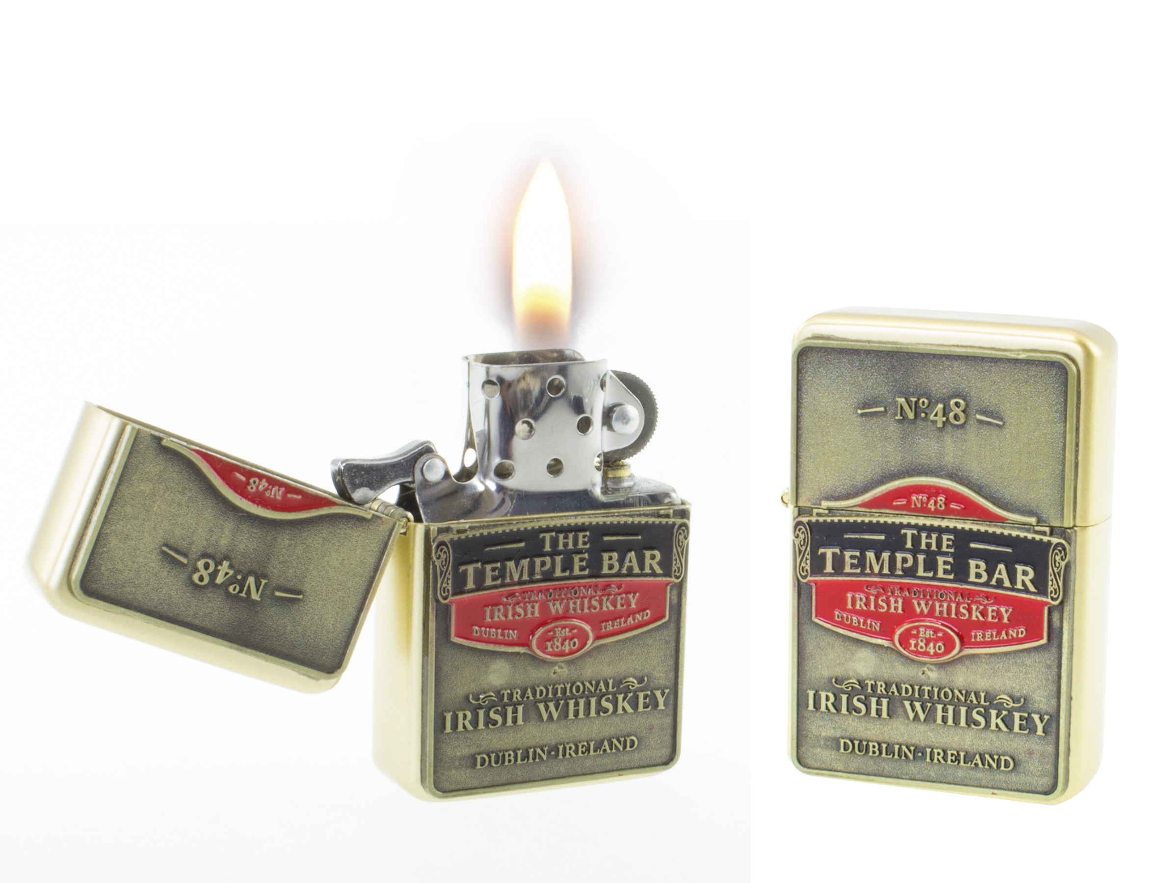 The Temple Bar Whiskey Lighter - Ireland Gifts