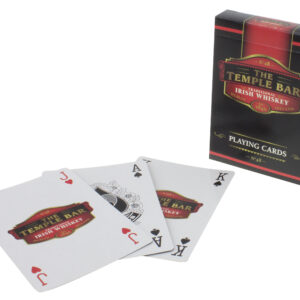 The Temple Bar Whiskey Playing Cards