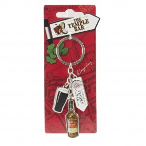 The Temple Bar Charm Keyring