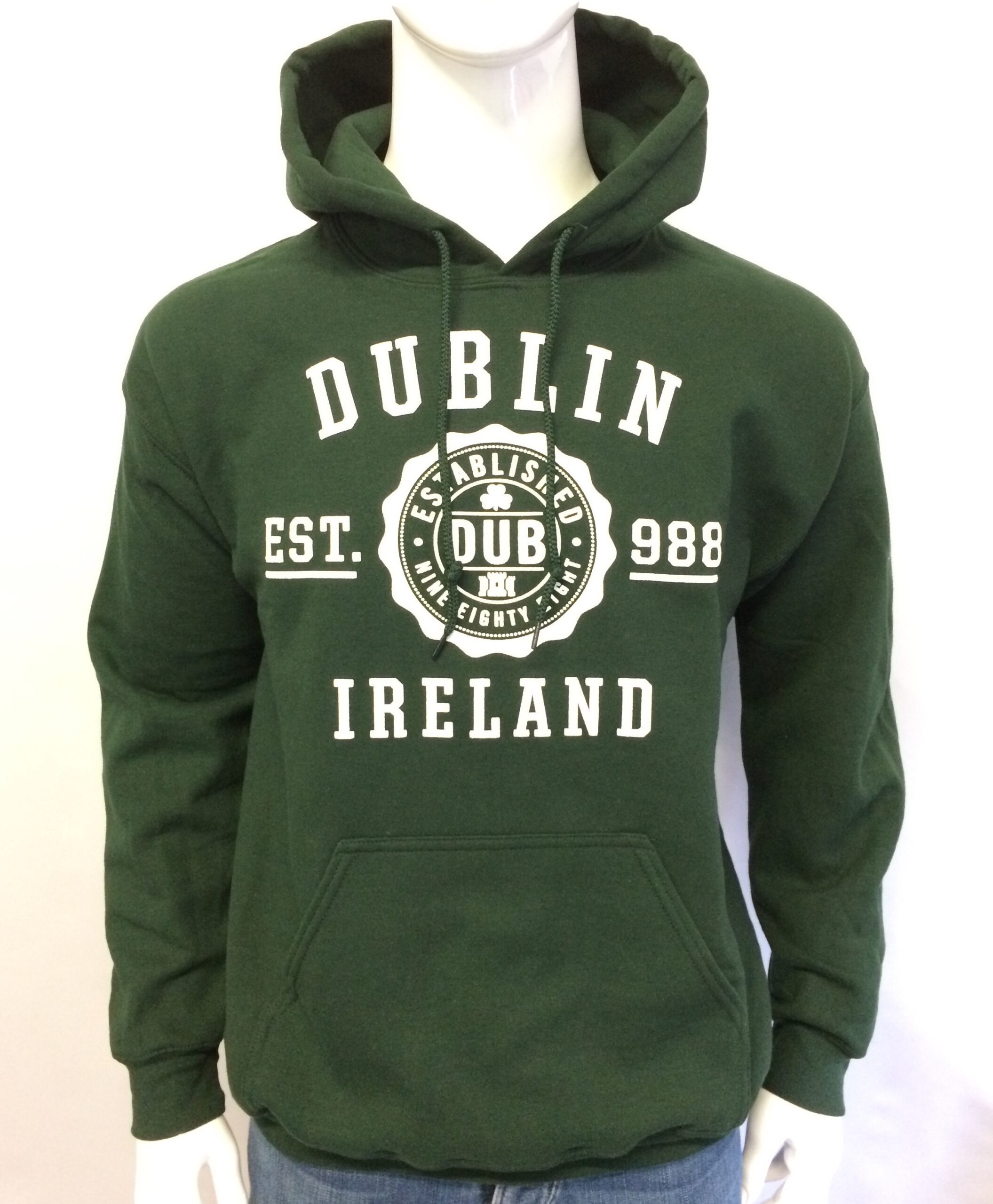 Dublin Hoodie Green