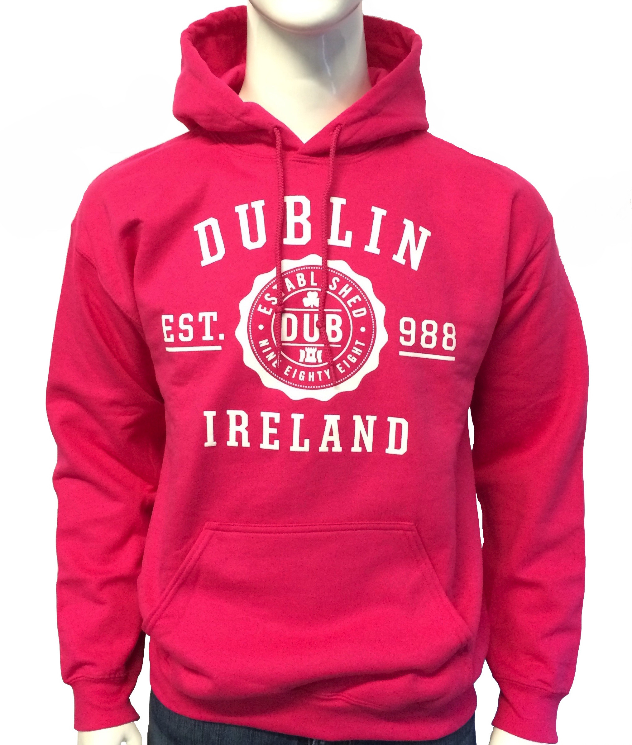 Dublin Hoodie Hot Pink