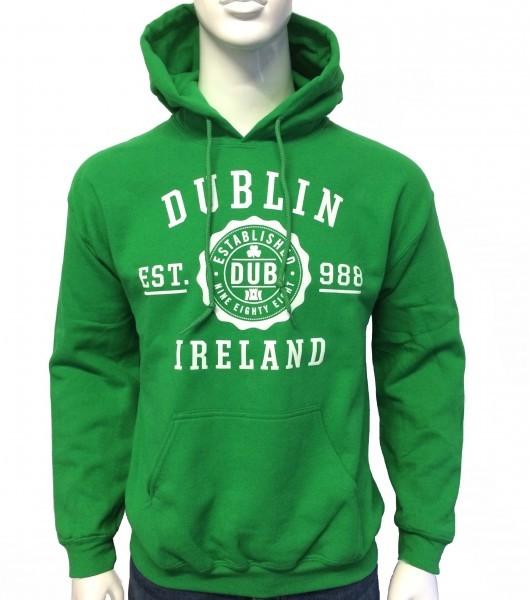 Dublin Hoodie Kelly Green
