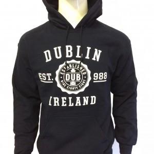 Dublin Stamp Hoodie | Navy