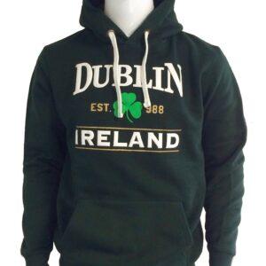 Dublin Shamrock Hoodie