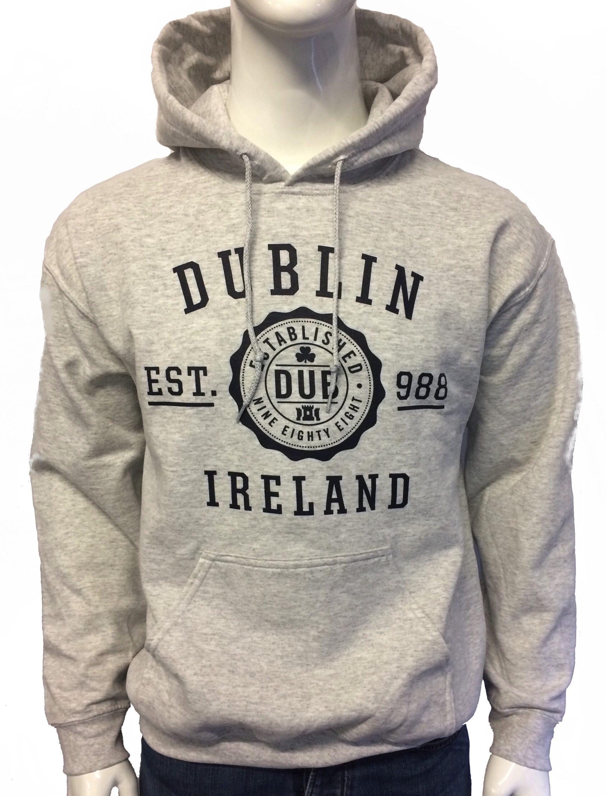 Dublin Hoodie Ash Grey