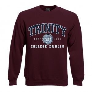 Trinity College Dublin Sweatshirt | Maroon