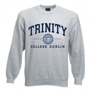 Trinity College Dublin Sweatshirt | Ash Grey