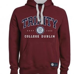 Trinity College Dublin Hoodie | Maroon