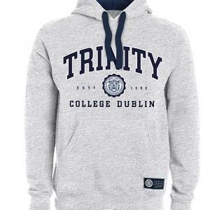 Trinity College Dublin Hoodie | Ash Grey
