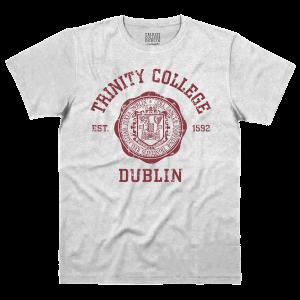 Trinity College Dublin Crest Tee Shirt