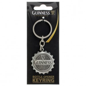 Guinness Bottle Opener Keyring