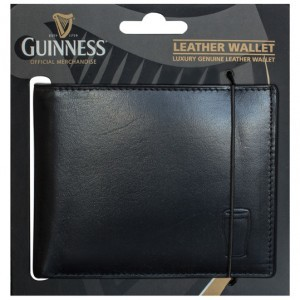 Guinness Black Leater Wallet