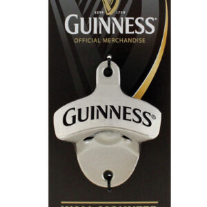 Guinness Metal Wall Mounted Bottle Opener