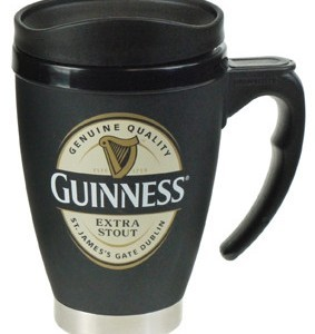Guinness Label Small Travel Mug