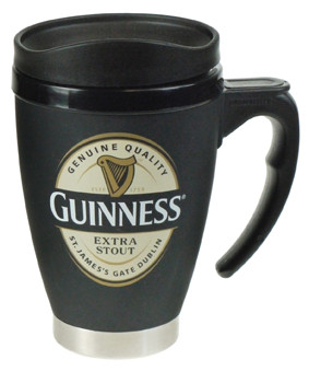 Guinness Label Small Travel Mug