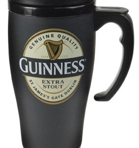 Guinness Label LargeTravel Mug