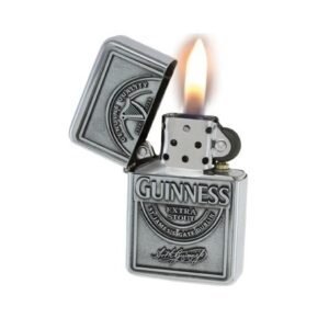 Guinness Label Oil Lighter
