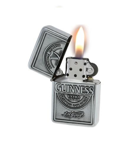 Guinness Label Oil Lighter
