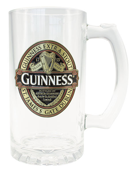 Guinness Ruby Red Colour Filled Tankard