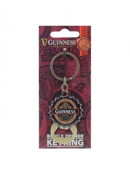 Guinness Ruby Red Flip Down Bottle Cap Opener