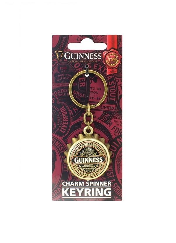Guinness Ruby Red Bottle Cap Opener Keyring