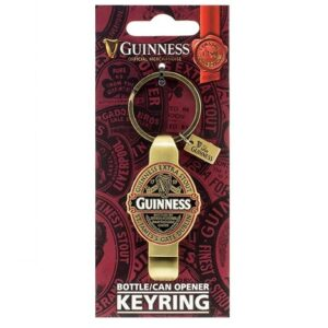 Guinness Ruby Red Bottle Cap Opener Keyring