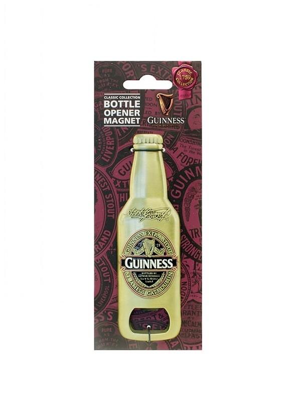 Guinness Ruby Red Bottle Opener Magnet
