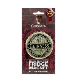 Guinness Ruby Red Screwcap Bottle Opener Magnet