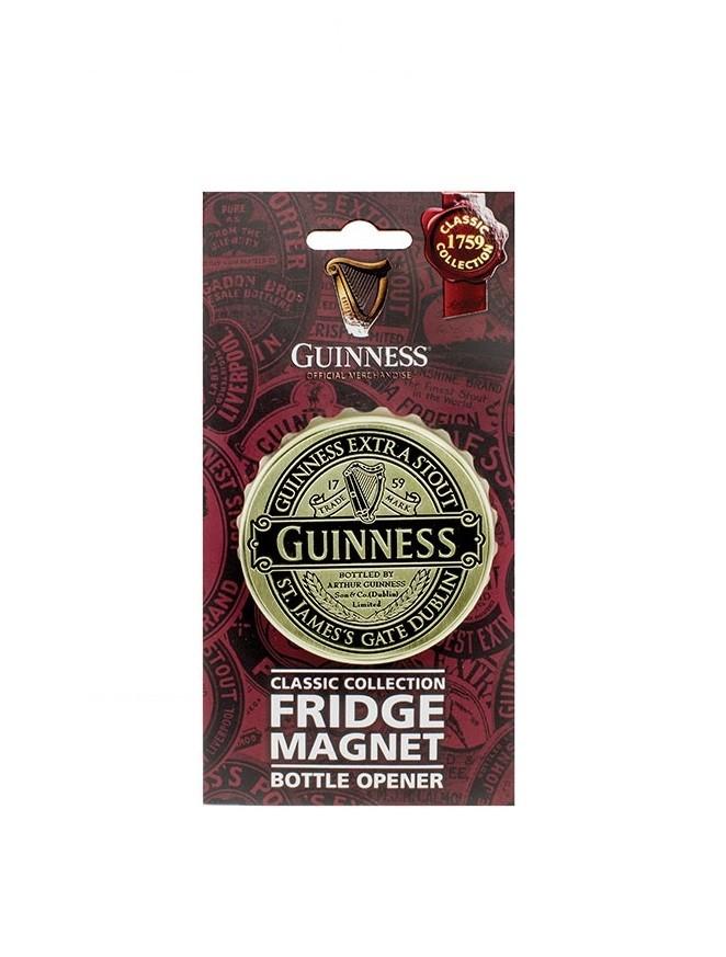 Guinness Ruby Red Screwcap Bottle Opener Magnet