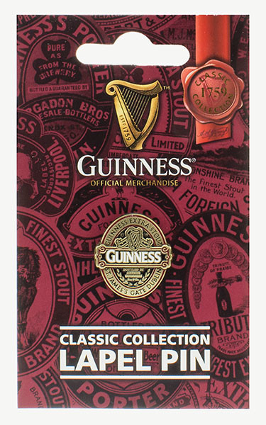 Guinness Ruby Red Lapel Pin