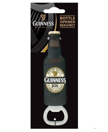 Guinness Label Bottle OpenerMagnet