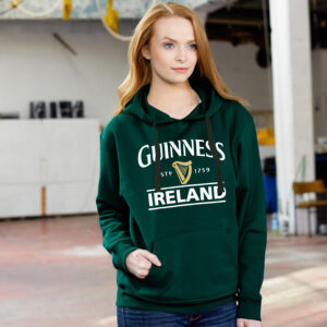 Guinness Harp Hoodie | Bottle Green