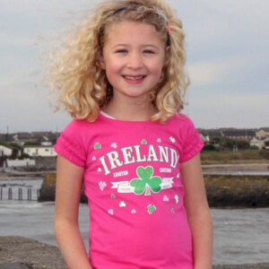 Frilly Limited Edition Ireland Tee Shirt | Pink