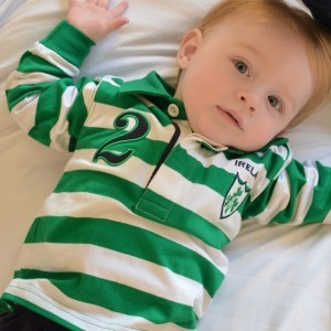 Baby Ireland Rugby Jersey | Green/White