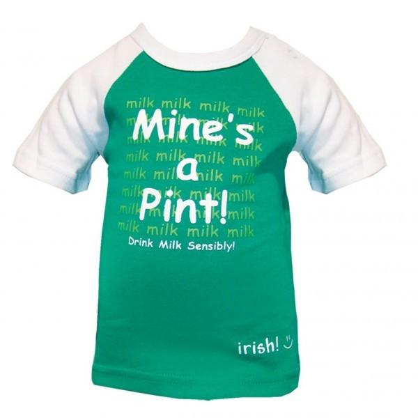 Baby Mine's A Pint T-Shirt   Green