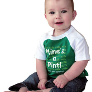 Baby Mine's A Pint Tee Shirt | Green