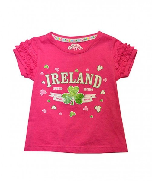 Frilly Pink Limited Edition Ireland T-Shirt