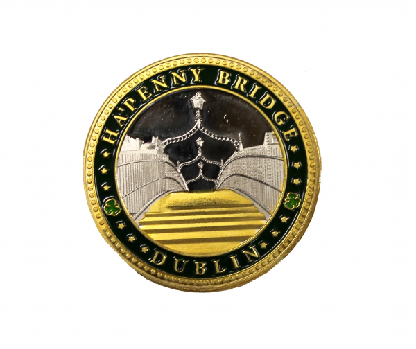 Ha'Penny Bridge Coin - Front