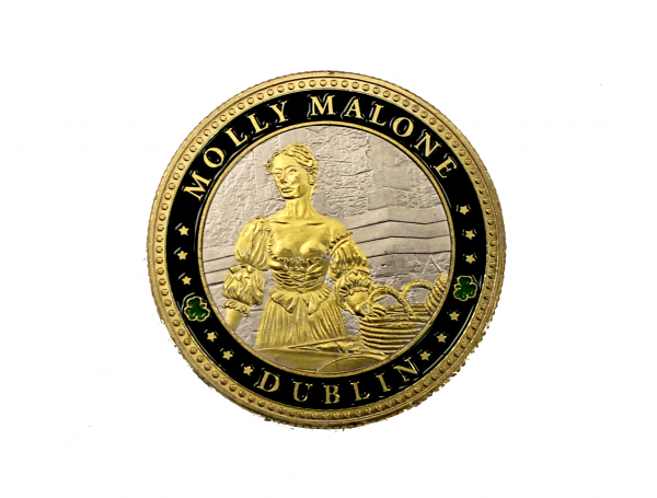 Molly Malone Coin - Front