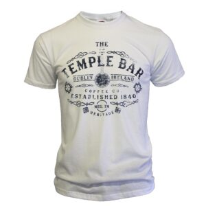 Temple Bar Banjo T-Shirt | White