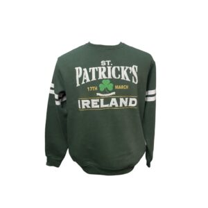 St Patrick's Day Sweatshirt | Bottle Green