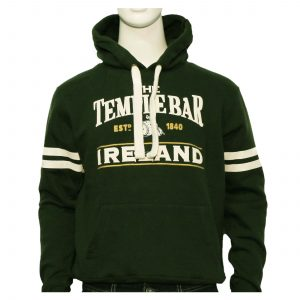 Temple Bar Barrel Hoodie | Bottle Green
