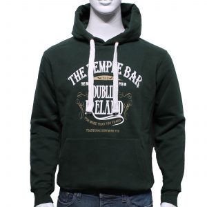 Temple Bar Hoodie | Bottle Green