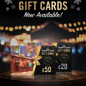 The Temple Bar Gift Voucher | €20