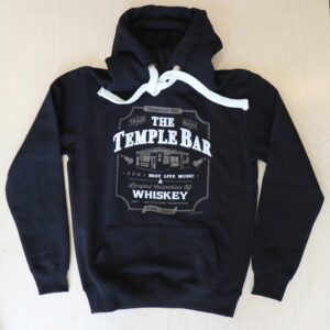 The Temple Bar Whiskey Hoodie - Black